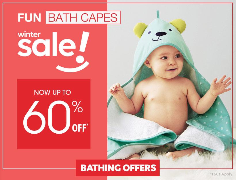 Fun bath capes