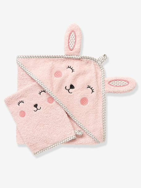 White 6 Cube Kids Toy Games Storage Unit Girls Boys: Baby Hooded Bath Cape With Embroidered Animals