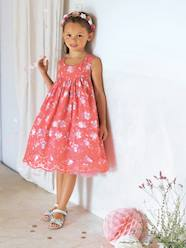 Girls-Dresses-Girls Printed Occasion Dress