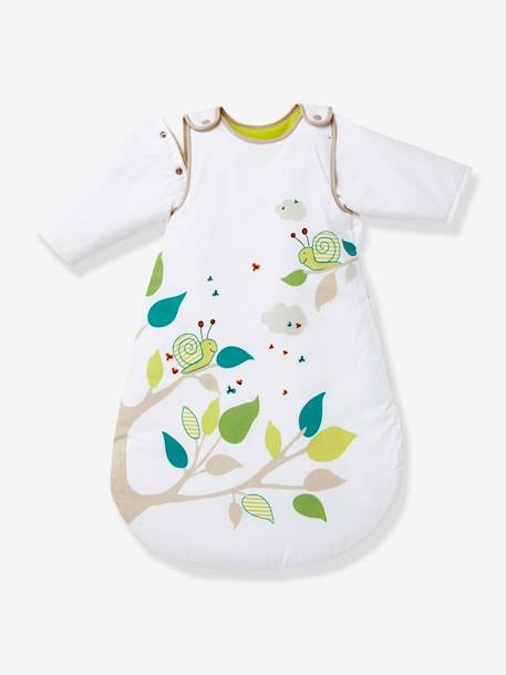 Baby Sleep Bag with Detachable Sleeves - TOG 2 SECRET GARDEN