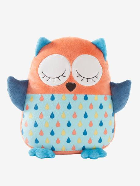 Plush Owl Cushion Muticolour