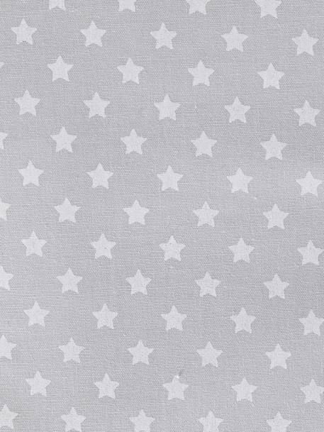 Medical Records Cover Grey / stars+Pink / hearts