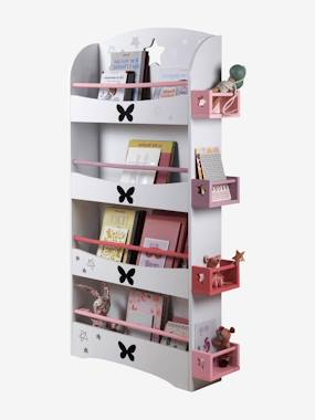 Storage Library, Butterfly Theme white