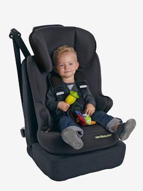 Vertbaudet Kidsit Car Seat - Group 1/2/3 grey dark solid with design