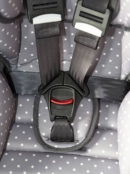 Car seat - Group 1 Grey/star print