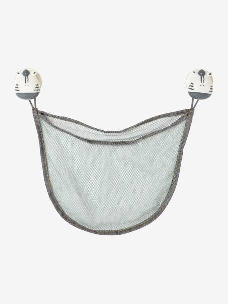 Bath storage net White