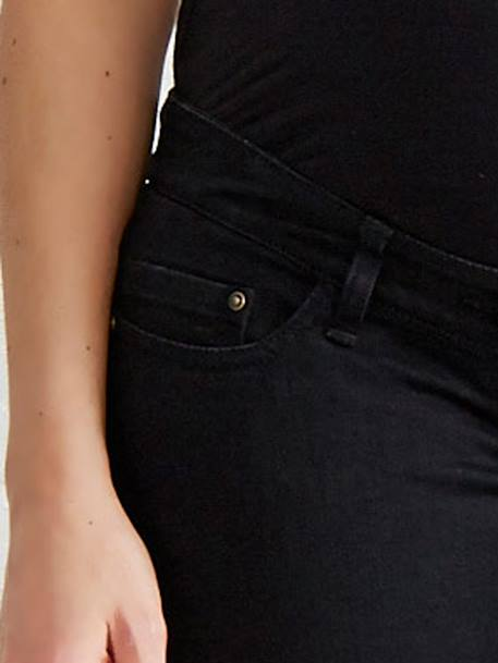 Maternity Slim Stretch Jeans - Inside Leg 30' Black+BLUE DARK WASCHED+Grey+Untreated