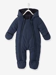 Baby-Convertible Baby Snowsuit