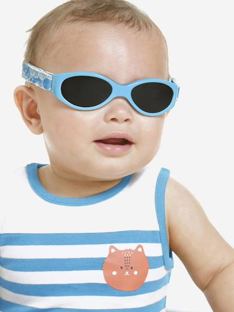 Vertbaudet Baby Sunglasses for 6-18 months Blue print