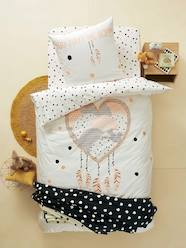 Duvet Cover + Pillowcase Set, Heart Dreamcatcher Theme