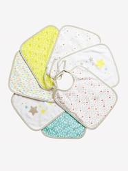 Nursery-Mealtime-VERTBAUDET Pack of 7 Bibs