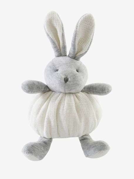 Bunny Soft Toy and Slippers Gift Set Beige