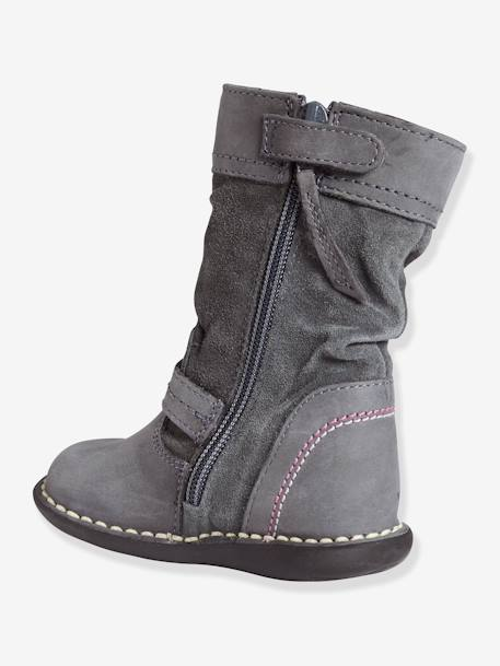 Girls Boots Grey