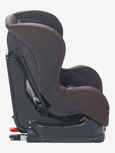 ISOFIX Car Seat - Group 0+/1 Grey/star print