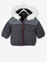 Boys' Hooded & Lined Padded Jacket