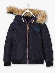 Boys-Coats & Jackets-Padded Jackets-Boys' Padded Jacket with Polar Fleece Lining