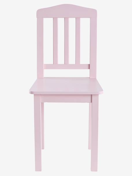 Solid Pine Child's Chair PINK MEDIUM SOLID+White
