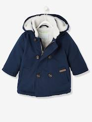 Baby-Outerwear-Baby Boys Fluffy-Lined Parka