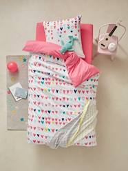 Furniture & Bedding-Child's Bedding-Duvet Cover & Pillowcase, Hearts Theme