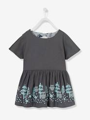 Girls' Reversible Twill Dress