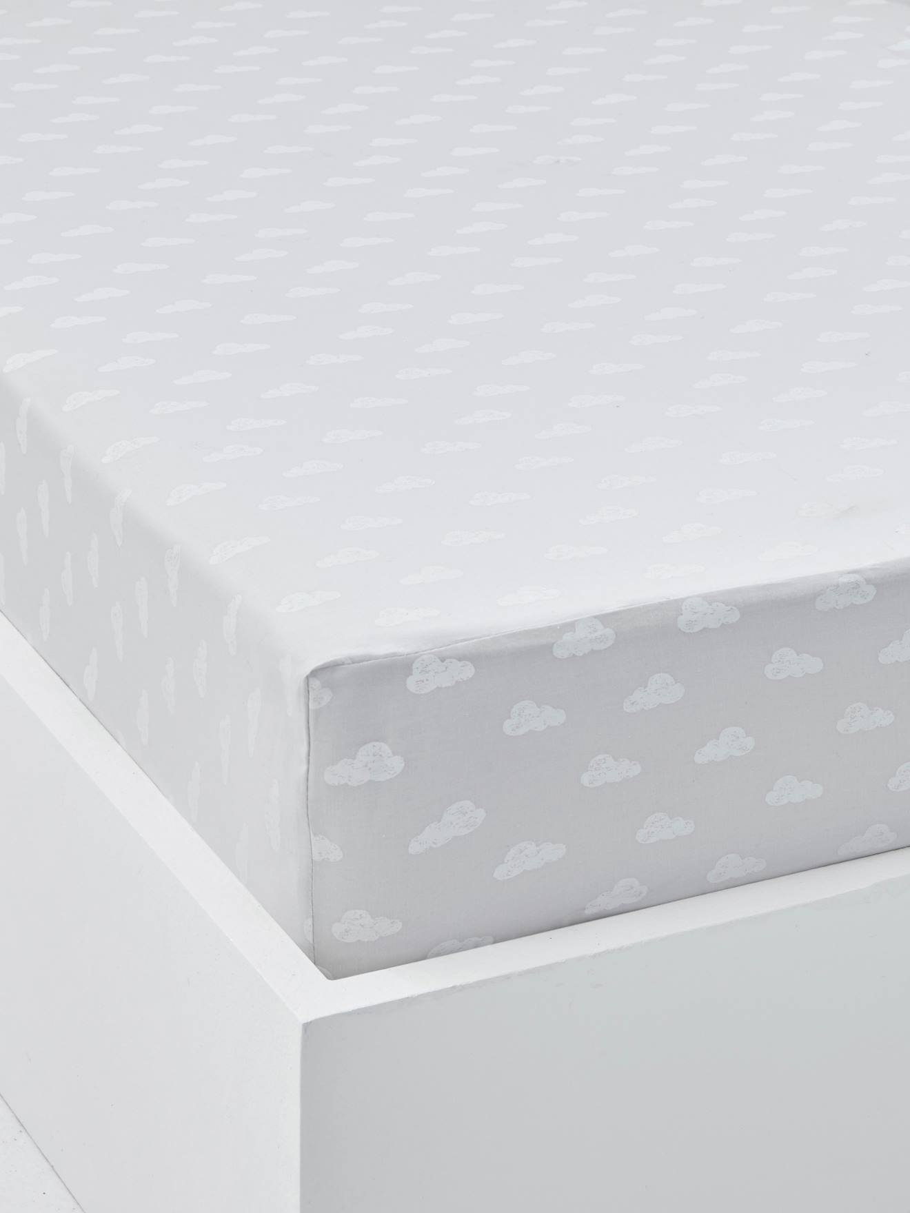 fitted cot bed u0026 crib sheets vertbaudet