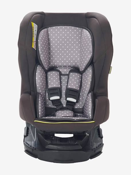 Swivel Car Seat - Group 1 Anthracite suede+Grey/star print