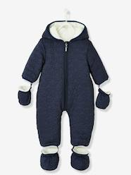 Baby-Outerwear-Baby Star-Padded Jumpsuit