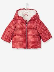 Baby Girls' Padded Jacket with Hood
