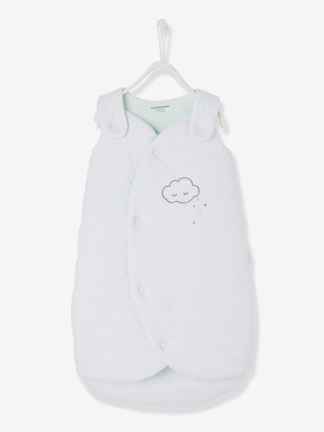 Premature Baby Sleep Bag, Bio Collection White