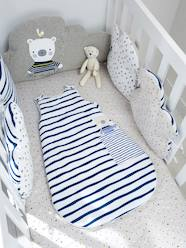 Adjustable Cot Bumper, Fun Sailor Theme
