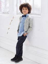 Boys' Striped Shirt with Bow Tie