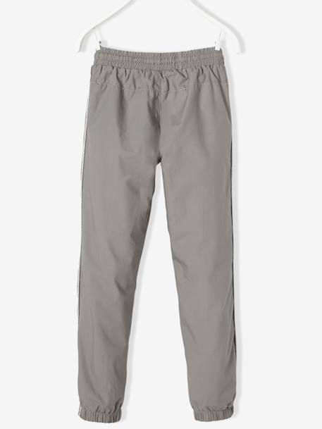 Girls Lined Poplin Joggers GREY LIGHT SOLID