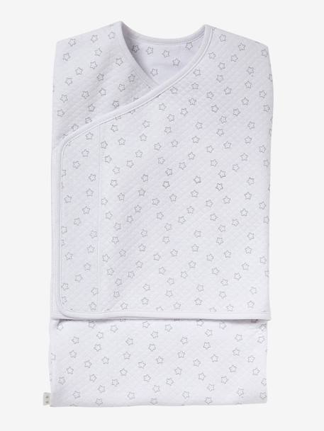 VERTBAUDET Swaddling Sleep Bag BLUE LIGHT STRIPED+Blush / dots+Spearmint print+Taupe+WHITE LIGHT ALL OVER PRINTED