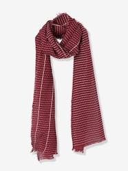Boys-Accessories-Winter Hats, Scarves & Gloves-Boys' Striped-Effect Scarf