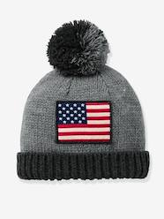 Boys-Accessories-Hats-Boys' Beanie with Flag