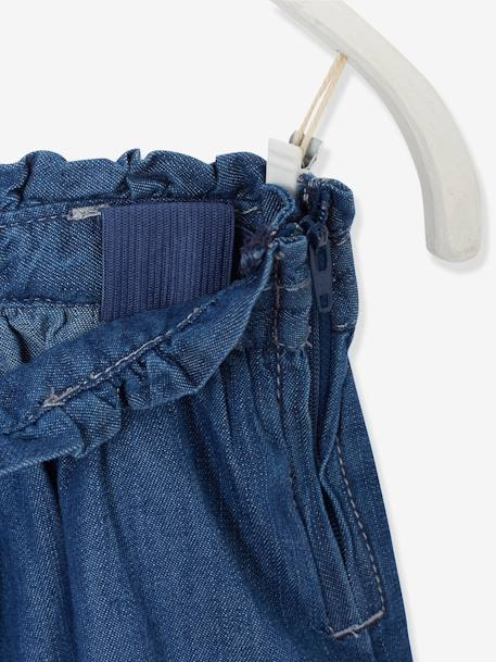 Denim Skirt Stonewashed