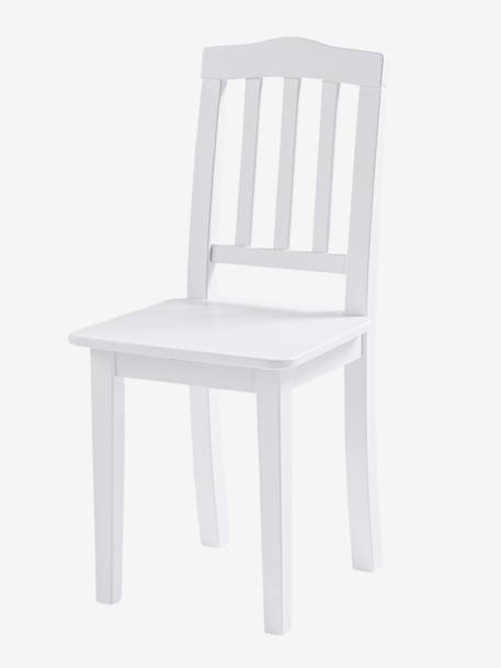 Solid Pine Child's Chair White