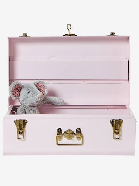 Metal Storage Box Pink