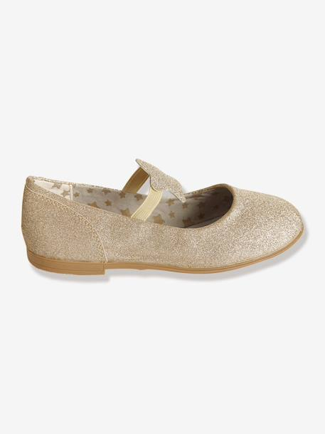 Girls' Ballet Pumps Gold