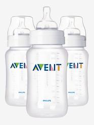 Nursery-Mealtime-Bottles-Set of 3 PHILIPS AVENT BPA-free 330ml feeding bottles