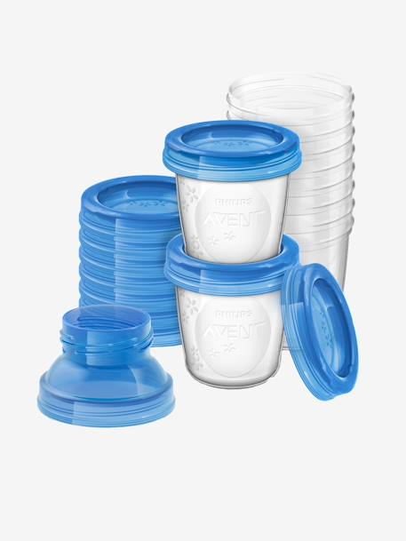 PHILIPS AVENT Breast Milk Storage Cups Clear / blue