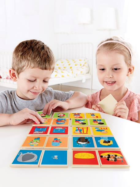 2-in-1 Memory and Opposites Game Muticolour
