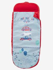 Furniture & Bedding-Child's Bedding-Sleeping Bag with Integrated Mattress, Vintage Car Theme