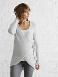Maternity Loungewear Knit Cardigan