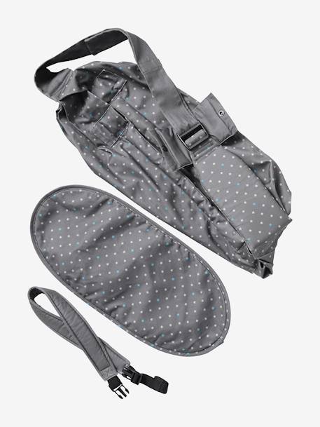 VERTBAUDET Cosynomad Hammock Baby Carrier Grey / print