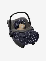 Special Printed Puffer-Style Footmuff for Car Seats