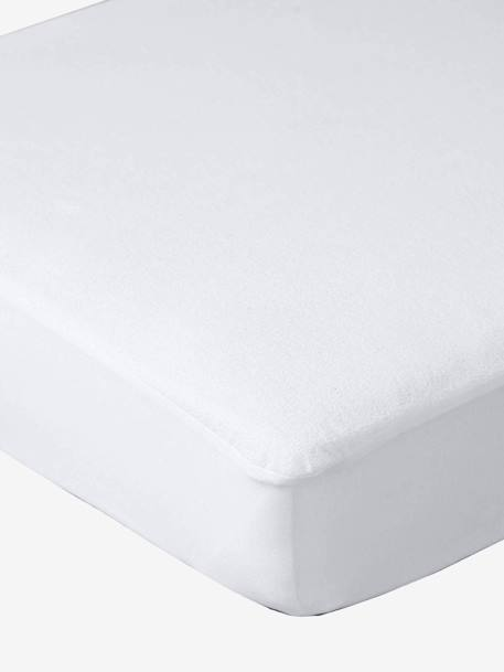 Waterproof Fitted Sheet White