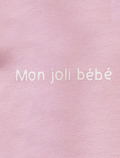 Baby's Cotton Sleepsuit Blush+Grey+Grey-navy+Lilac+White