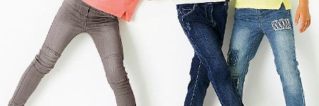 Girls Skinny & Denim Jeans