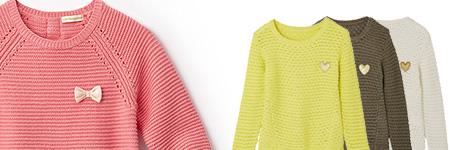 Girls Sweaters & Knitwear